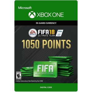 FIFA 18 Ultimate Team 1050 FIFA Points Digital (Código) / Xbox One